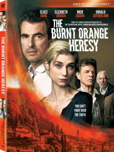 THE BURNT ORANGE HERESY Arrives on Digital and DVD