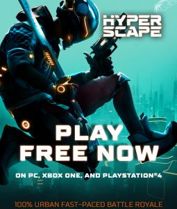 Enter The Hyper Scape: 100% Urban Battle Royale