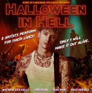 "Machine Gun Kelly to Star in New Audio Up Podcast ""Halloween In Hell"""