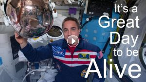 "Astronauts at International Space Station Release Music Video Singing Travis Tritt's ""It's a Great Day To Be Alive"""