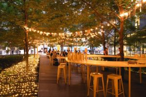 The New Downtown Terraces Open Until October Plus Other Animation Happening