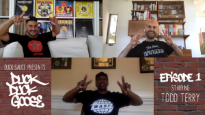 "Duck Sauce unveils first episode of ""Duck Duck Goose"" talkshow featuring Todd Terry"