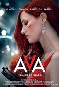 *New Clip Debut* Spy Thriller AVA Starring Jessica Chastain Opens Friday, September 25