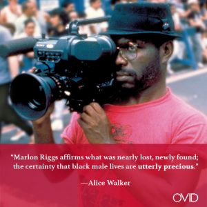 OVID.tv – NOW STREAMING: Two Films by Black Filmmaker Marlon Riggs, a Feature Starring Charlotte Gainsbourg, & More!