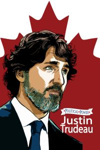 A COMPANY FROM CANADA TEAMS UP TO RELEASE A CANADIAN VERSION OF THE JUSTIN TRUDEAU COMIC BOOK BIOGRAPHY