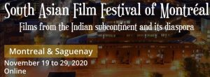 South Asian Film Festival ONLINE November 19-29