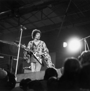 Gibson Honors Legendary Guitarist Jimi Hendrix with Two Historical Custom Shop Guitars, the 1969 Flying V and 1967 SG Custom