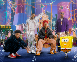"""Tyga, Swae Lee, Lil Mosey Team Up With Tainy & Neon 16/ Interscope Records for """"Krabby Step"""" Single"""