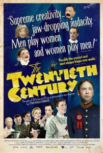 THE TWENTIETH CENTURY, on VOD platforms Dec. 11th from Oscilloscope Laboratories!