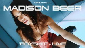 """Madison Beer performs new single """"BOYSHIT"""" for Vevo LIFT series"""