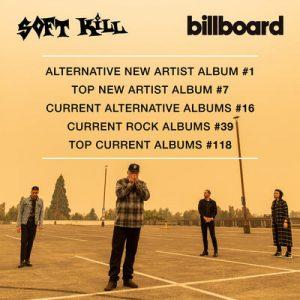 Soft Kill 'Dead Kids, R.I.P. City' Album Tops Billboard Alternative Charts #1
