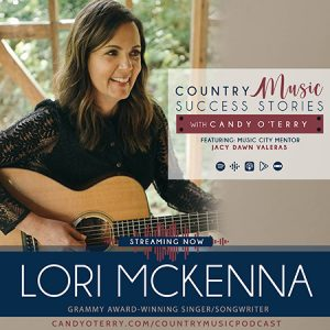 """Intimate conversation with Lori McKenna about writing the hit song """"Humble And Kind"""" recorded by Tim McGraw"""