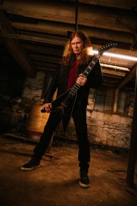 Gibson: Announces Partnership with Dave Mustaine