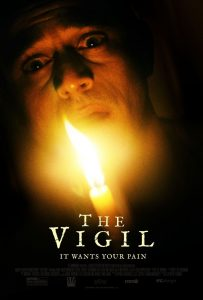 Dare to Sit THE VIGIL On Feb 26th | New Trailer and Poster