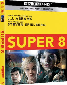 SUPER 8 debuts on 4K Ultra HD May 25, 2021 from Paramount Home Entertainment
