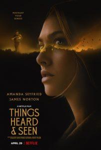THINGS HEARD & SEEN – Official Trailer & Key Art