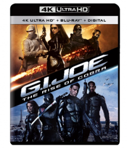 G.I. JOE: THE RISE OF COBRA and G.I. JOE: RETALIATION debuts on 4K Ultra HD Blu-ray on July 20, 2021 from Paramount Home Entertainment