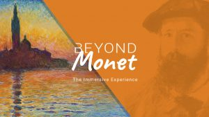 Beyond MONET: The Immersive Experience WORLD PREMIERE coming to Toronto