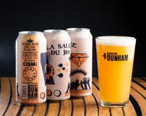 CISM AND BRASSERIE DUNHAM JOIN UP AND LAUNCH A BEER AND TO CELEBRATE THE THIRTIETH ANNIVERSARY OF THE RADIO STATION