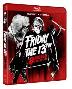 FRIDAY THE 13TH 8-MOVIE COLLECTION arrives on Blu-ray August 10, 2021 from Paramount Home Entertainment
