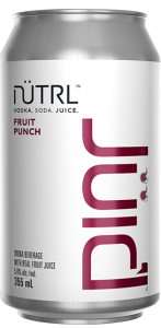 NEW NÜTRL Vodka Soda JUIC'd – Vodka Soda with a splash of REAL juice!