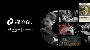 The Coda Collection Launches as Exclusive Channel on Amazon Prime Video With Curated Library of Over 150 Rare and Never-Before-Seen Concert Films, Documentaries, and More From The Biggest Names in Music