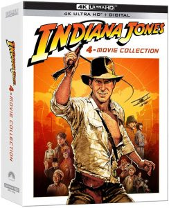 Indiana Jones: 4-Movie Collection – 4K Ultra HD Edition