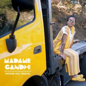"""Madame Gandhi Spreads Positivity and Truth During Pride Month with """"Freedom"""" with Trakgirl"""
