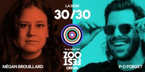 ZOOFEST: THE 30/30 SERIES IN THEATERS!