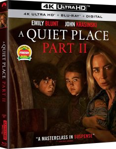 A QUIET PLACE: PART II debuts on Digital July 13, 2021 and on 4K Ultra HD Combo Pack, Blu-ray and DVD July 27 from Paramount Home Entertainment.