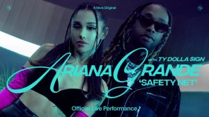 """Ariana Grande releases """"safety net"""" featuring Ty Dolla Sign Vevo Official Live Performance"""