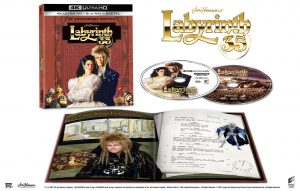 SONY PICTURES HOME ENTERTAINMENT New Release – LABYRINTH: 35TH ANNIVERSARY LIMITED EDITION