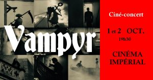VAMPYR (1932) with live music at the Imperial cinema