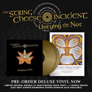 The String Cheese Incident's 2003 album 'Untying the Not' available on vinyl for the first time ever