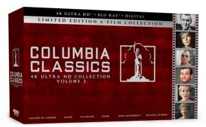 COLUMBIA CLASSICS 4K ULTRA HD COLLECTION VOLUME 2 – SONY PICTURES HOME ENTERTAINMENT NEW RELEASE