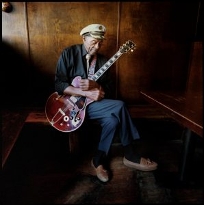 'Chuck Berry 1970s ES-355' Available Worldwide; To Honor the Rock and Roll Legend, Gibson Is Releasing Chuck Berry's Favorite ES-355 Guitar in Wine Red