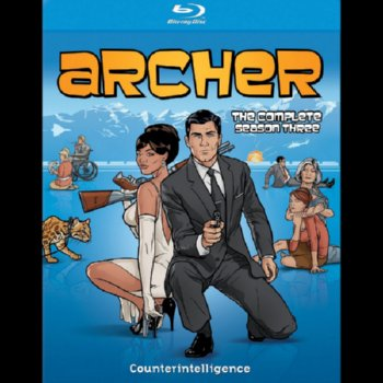 Archer: The Complete Season Three – Blu-ray Edition