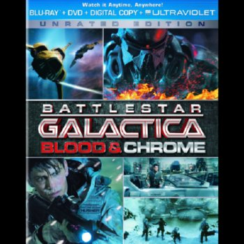 Battlestar Galactica: Blood & Chrome – Unrated Version – Blu-ray/DVD Combo Edition