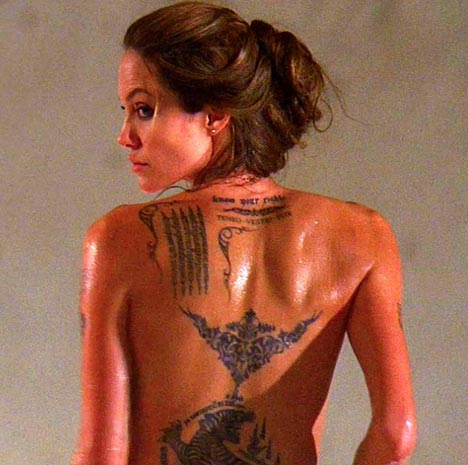 Top 10 Hottest Female Celebrity Tattoos