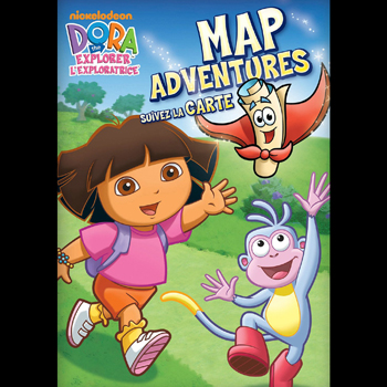 Dora the Explorer: Map Adventures