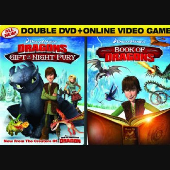 Gift of the Night Fury/Book of Dragons – 2 Disc Blu-ray + Video Game