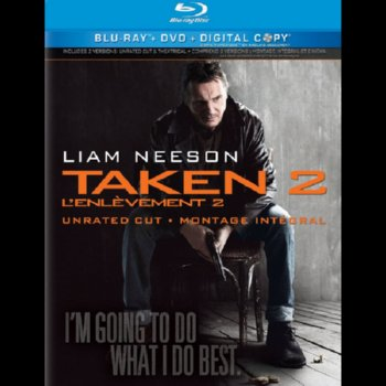 Taken 2: Unrated and Extended Version – Blu-ray /DVD Combo Edition